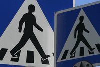 Cross Walk Signs