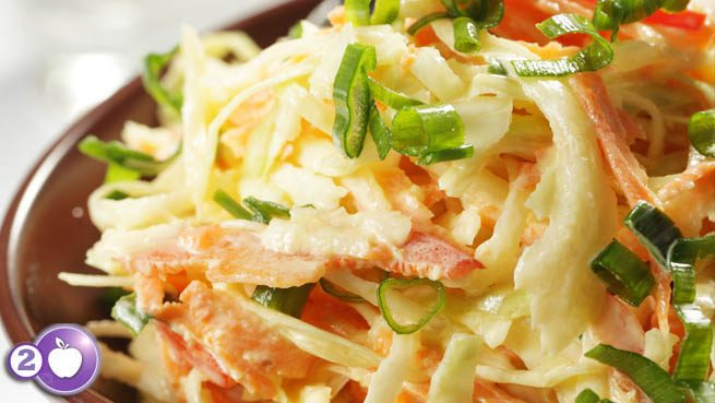Robin's Sweet Potato and Cabbage Slaw