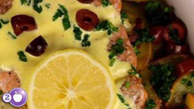 [PCOS Food Friday] Salmon with Citrus Hollandaise (Paleo)