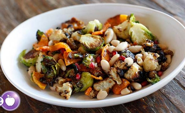 [PCOS Food Friday] Roasted Winter Salad
