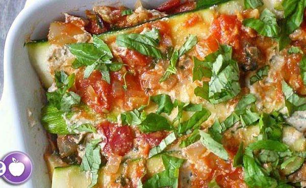 [PCOS Food Friday] Vegan Zucchini Lasagna
