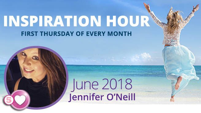 Jennifer O'Neill Tells Us How to Overcome Our Struggles