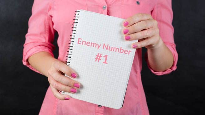 Why This Is Not Enemy Number One