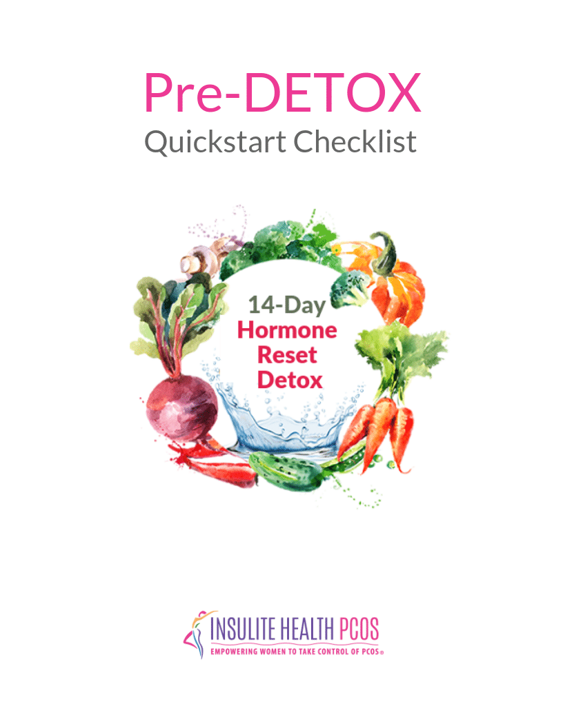 PCOS Pre-Cleanse Quick Start Check List
