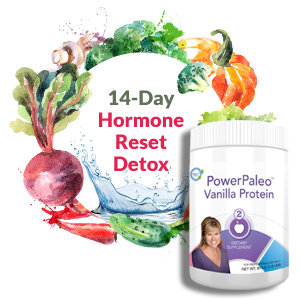 14 Day Hormone Reset Detox with Power Paleo Vanilla Protein Powder