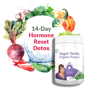 14-Day Hormone Reset Detox with Vegan Vanilla Protein Powder