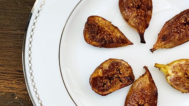 Cinnamon Salted Figs