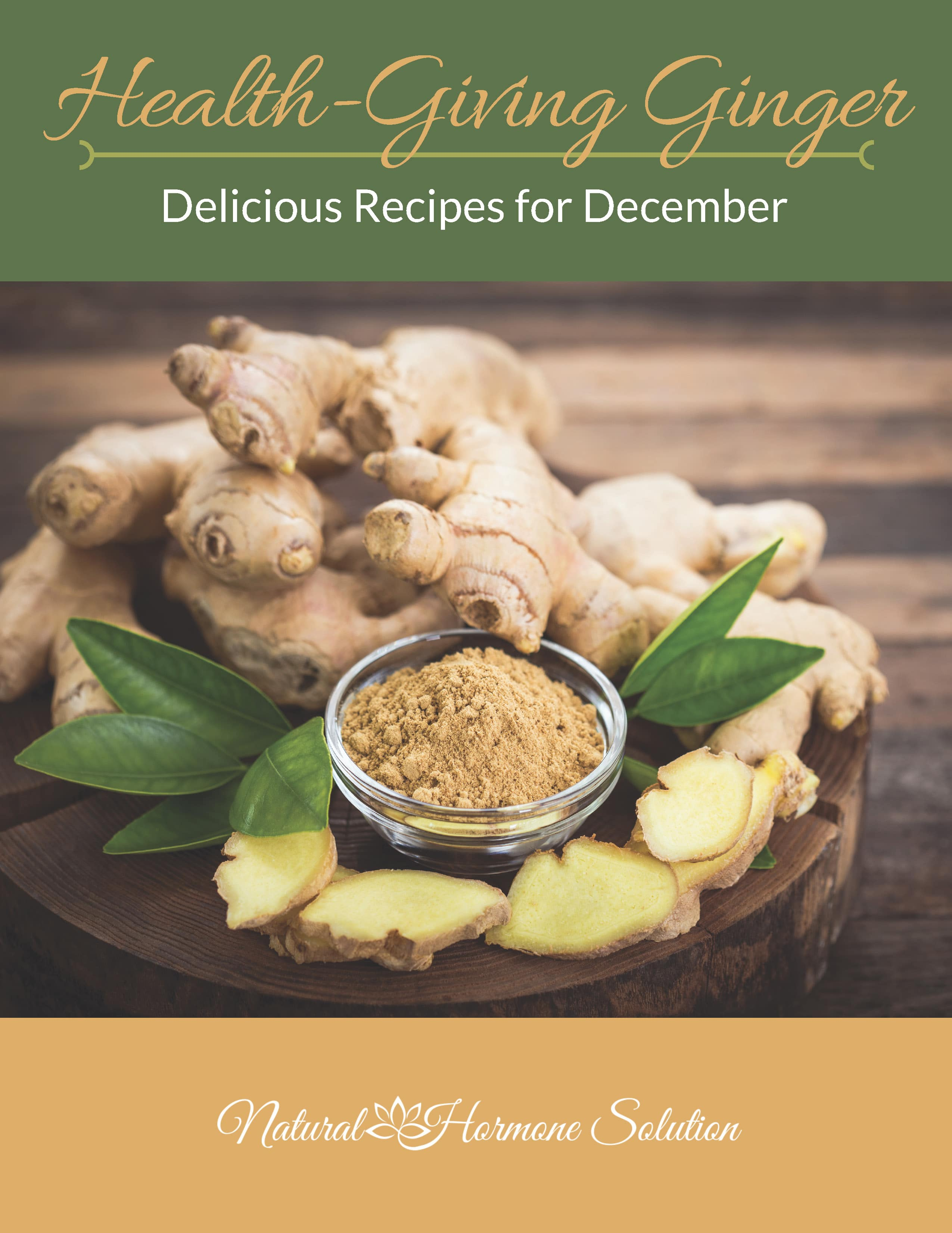 PCOS Healthy Ginger Recipes